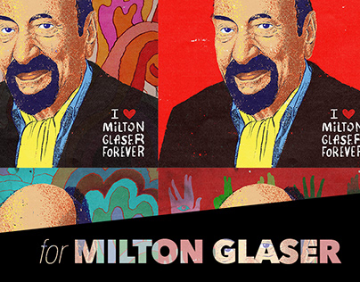I ❤️ Milton Glaser Forever