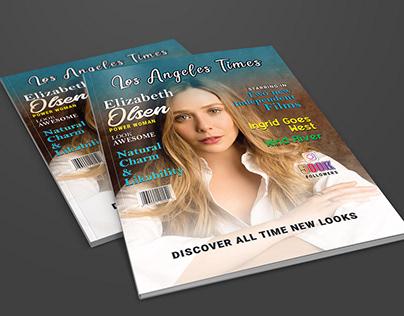 Magazine Design for Elizabeth Olsen