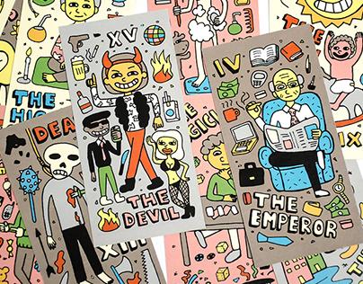 Tarot Under Fanzine