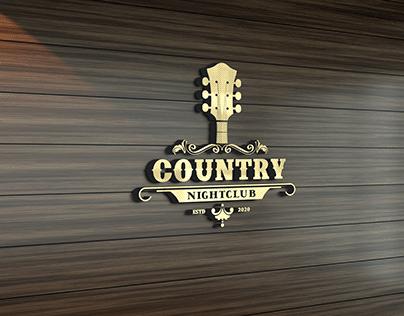 Country Guitar Music Western Saloon Bar Cowboy