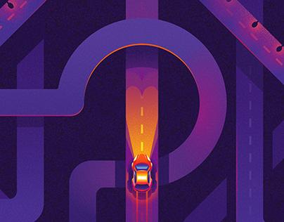 Citymobil Illustrations