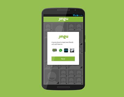 Jingu App Android Design