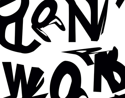 EXPERIMENTAL TYPE_ WE DON'T WORK WE PLAY