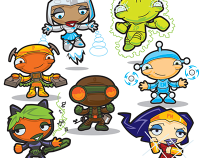 Whimsical Hero Characters, 2010