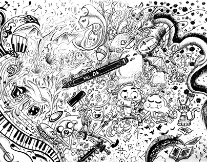 Doodles and Backgrounds