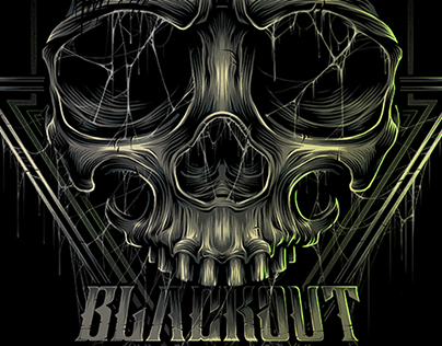 """The """"BLACKOUT BROTHER"""" SKULL"""