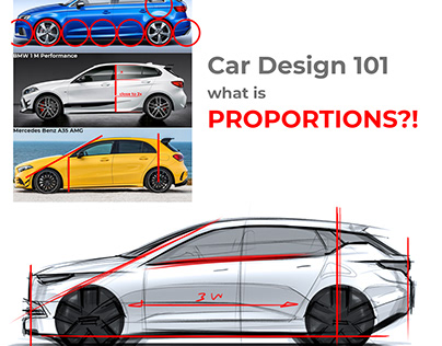 Car Design 101 - Proportions!