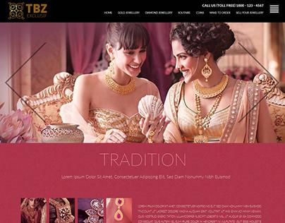 TBZ Exclusif Web Template