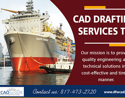 Cad Drafting Services TX | 8174732720 | dfwcad.com