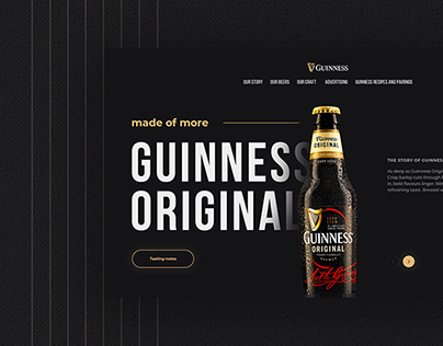 Guinness Beer | Redesign Concept