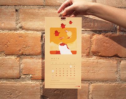 Calendário 2020   Calendar 2020