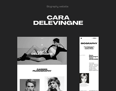Cara Delevingne | Biography website