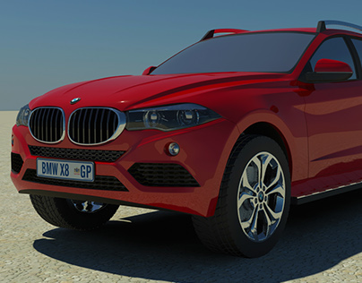The BMW X8 Concept
