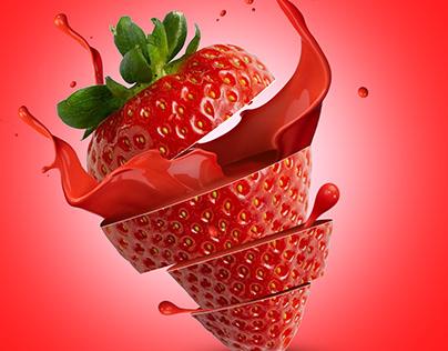 strawberry chokolate product