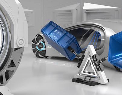 Futuristic Look for new UTZ Container