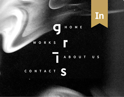 Design website / Studio Gris
