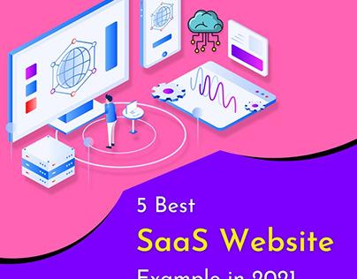5 Best SaaS Website Example in 2021