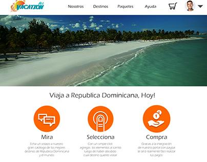 Concepto Web - All Vacation