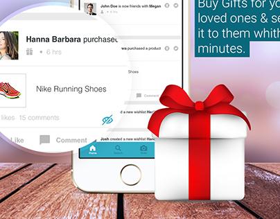 Gifting app UI/UX