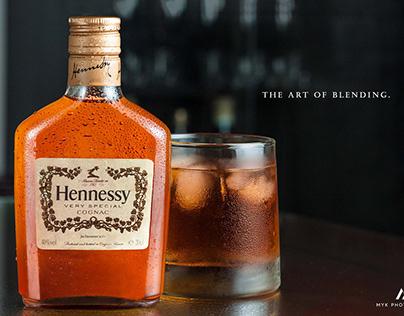 Cognac product shoot