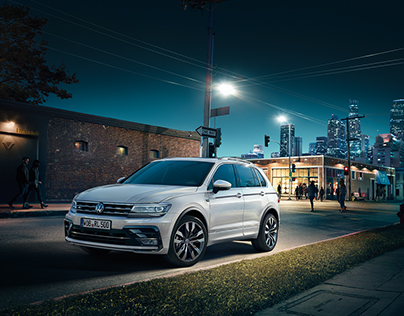 The all new 2016 VW Tiguan