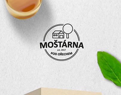 MOŠTÁRNA POD OŘECHEM - logo + design obalu
