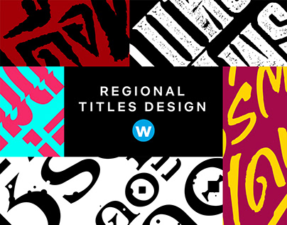 Thai Regional Titles Design