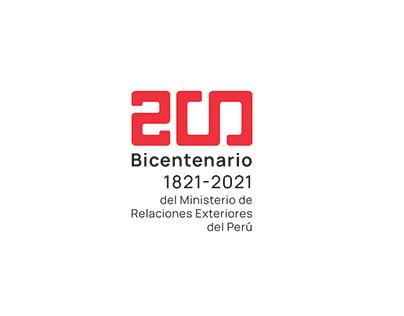 TRAE Bicentenario Min. Relaciones Exteriores - Perú