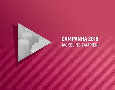 Campanha 2018 - Jackeline Zampieri -