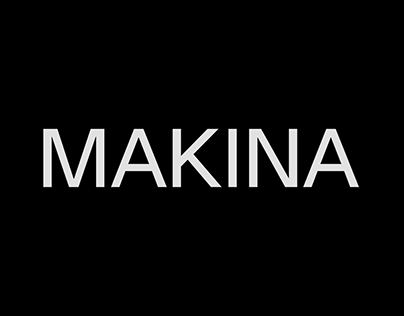 MAKINA – Strategy & Verbal Identity