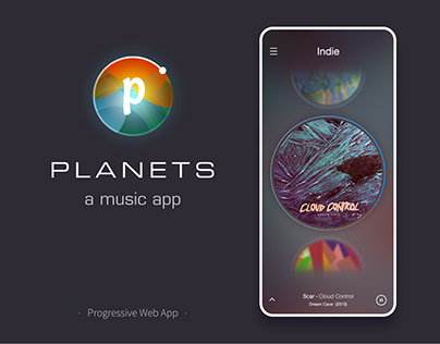 Planets - a music app