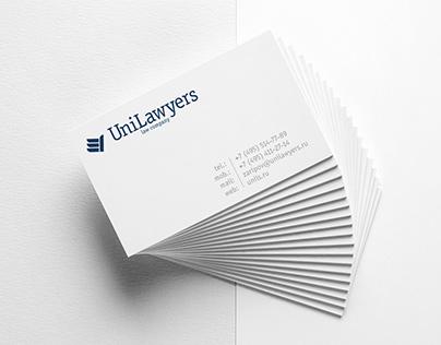 UniLawyers Редизайн логотипа