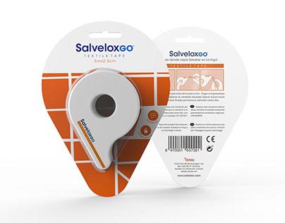 Salvelox GO  Healthcare product rebranding