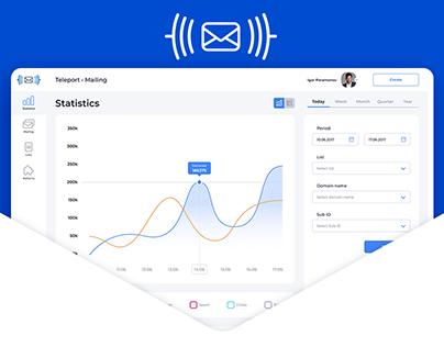 Teleport Mailing web-app