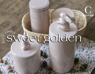 Sweet Golden Easter