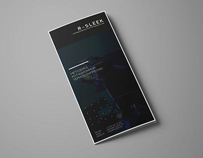 Tri-fold brochure from R-sleek