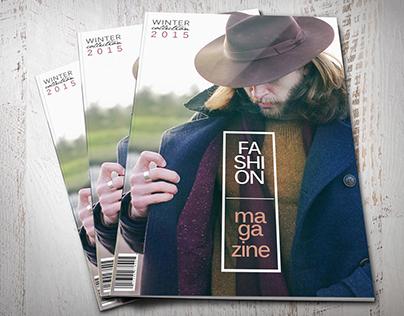 Fashion Magazine Layout // Marc