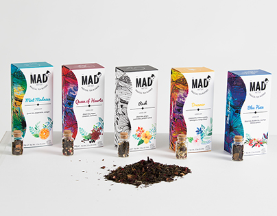 The Mad Hatter - Tea Packaging & Branding Design