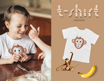 T-shirt designs for baby apparel