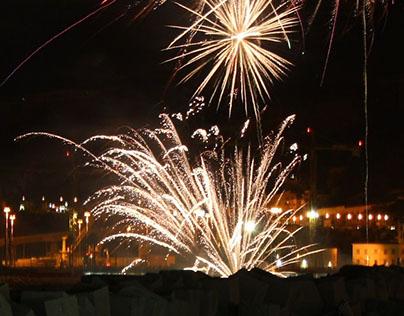 Fireworks in Salerno