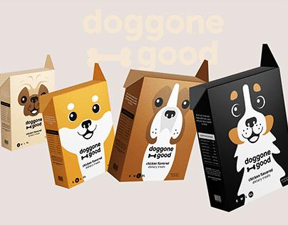 Doggone Good - Dog Treat Packaging