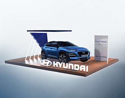 Hyundai Exhibition Stand - Render / CSIO BARCELONA 2019