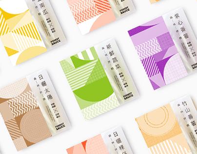 森林麵食 / 拌麵視覺設計 Forest Noodle_Sauce