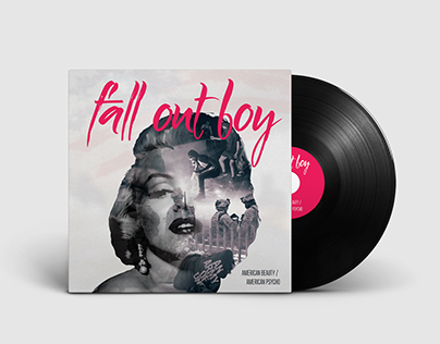 Fall Out Boy Album Cover Redesign
