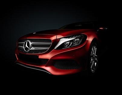 Mercedes Car Art