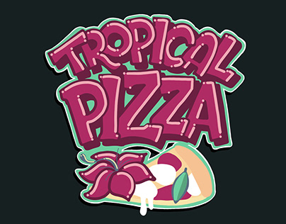 TROPICAL PIZZA 🌴🍕