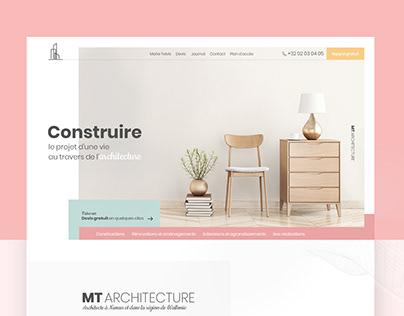 Website Architect - Interior design - Daily Ui