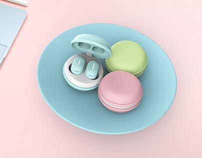 Macarons Bluetooth Earphone