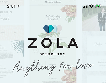 Zola Weddings iOS App