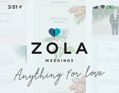 Zola Weddings iOS App